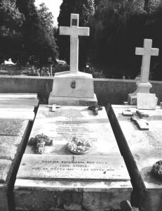 К Кунгину о Сибирякове 2 Могила Сибирякова в Ницце, на кладбище Кокад