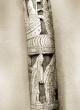 Фрагмент посоха Святителя Стефана из лиственницы с костяными накладками